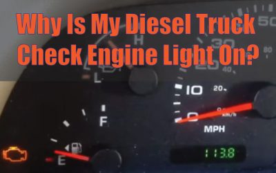 Why Is My Diesel Truck Check Engine Light On? | Callahan